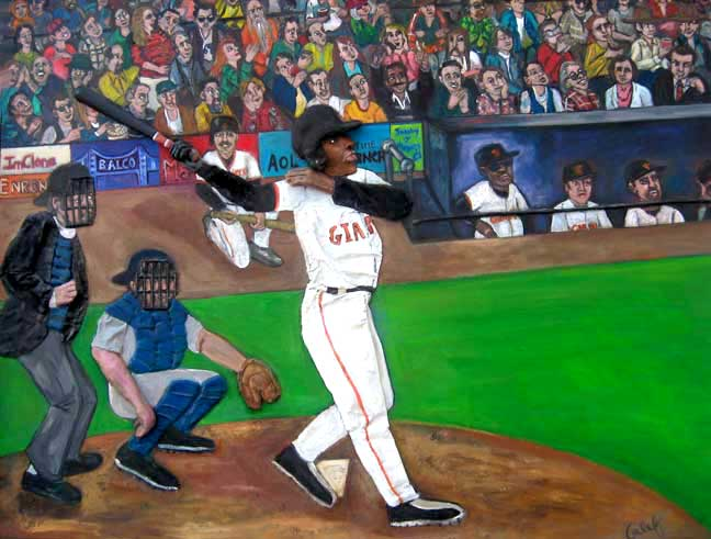 No. 72 - Barry Bonds